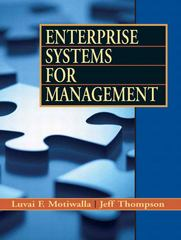 Enterprise Systems for Management 1st edition 9780132335317 013233531X