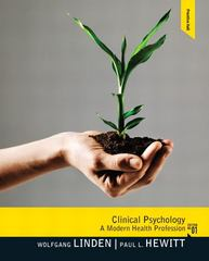 Clinical Psychology 1st edition 9780132397278 0132397277