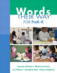 Words Their Way for PreK-K 1st Edition 9780132430166 0132430169