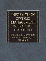 Information Systems Management 8th Edition 9780132437158 0132437155
