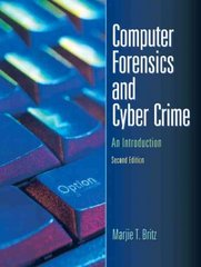 Computer Forensics and Cyber Crime 2nd Edition 9780132447492 0132447495