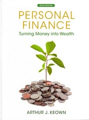 Personal Finance 6th Edition 9780132719162 0132719169