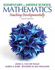 Elementary and Middle School Mathematics 8th Edition 9780132894395 0132894394