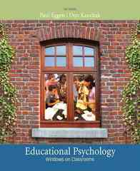 Educational Psychology 8th Edition 9780135016688 0135016681