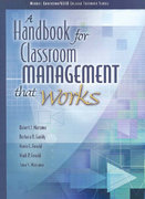 A Handbook for Classroom Management that Works 1st Edition 9780135035818 0135035813