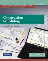 Construction Scheduling 2nd Edition 9780135137826 0135137829
