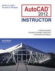 AutoCAD 2012 Instructor 7th edition 9780073375465 0073375462