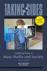 Taking Sides: Clashing Views in Mass Media and Society, Expanded 11th edition 9780078050152 0078050154