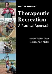 Therapeutic Recreation 4th Edition 9781478616184 1478616180
