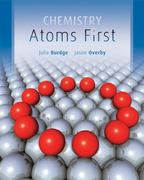 Loose Leaf Version for Chemistry: Atoms First 1st edition 9780077430832 0077430832