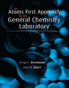 An Atoms First Approach to General Chemistry Laboratory Manual 1st edition 9780077439682 0077439686
