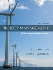 Project Management 8th Edition 9780470533024 0470533021