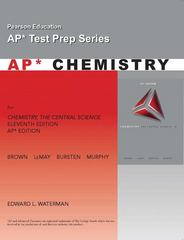 AP Exam Workbook for Chemistry 11th edition 9780136002840 0136002846