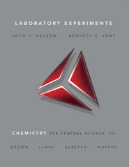 Laboratory Experiments for Chemistry 11th edition 9780136002857 0136002854