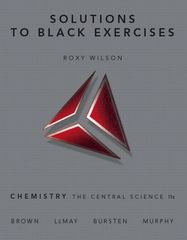 Solutions to Black Exercises 11th edition 9780136003243 0136003249