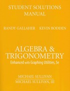 Student Solutions Manual  for Algebra and Trigonometry 5th edition 9780136005414 0136005411