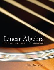 Linear Algebra with Applications 4th edition 9780136009269 0136009263
