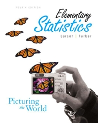 Student Solutions Manual for Elementary Statistics: Picturing the World 4th edition 9780136013075 0136013074