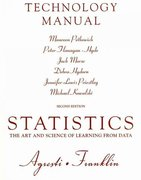 Technology Manual for Statistics 2nd edition 9780136036159 0136036155