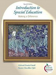 Introduction to Special Education 7th edition 9780136101390 0136101399