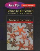Audio CDs for Ponto de Encontro 1st edition 9780136130055 0136130054