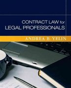 Contract Law for Legal Professionals 1st Edition 9780136131786 0136131786