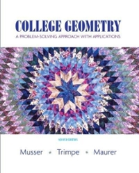 Student Activity Manual for College Geometry 1st edition 9780136157984 013615798X