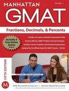 Fractions, Decimals, & Percents GMAT Strategy Guide, 5th Edition 5th Edition 9781935707639 1935707639