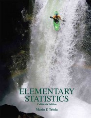 Elementary Statistics, California Edition w/ CD 1st edition 9780558983055 0558983057