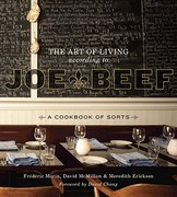 The Art of Living According to Joe Beef 0 9781607740148 1607740141