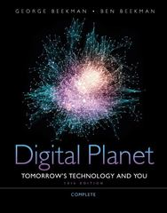 Digital Planet 10th edition 9780132091534 0132091534