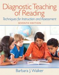 Diagnostic Teaching of Reading 7th Edition 9780132316514 013231651X