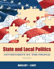 State and Local Politics 15th edition 9780205006397 0205006396