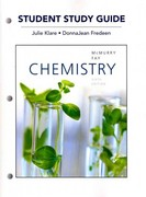Study Guide for Chemistry 6th edition 9780321727244 032172724X