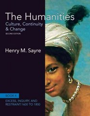 The Humanities 2nd edition 9780205013333 0205013333