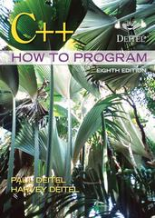 C++ How to Program 8th edition 9780132662369 0132662361