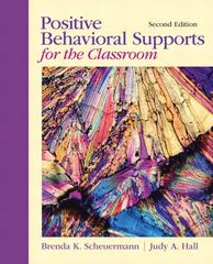 Positive Behavioral Supports for the Classroom 2nd Edition 9780132147835 0132147831
