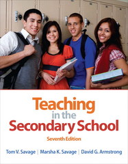 Teaching in the Secondary School 7th edition 9780132101523 0132101521