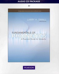 Audio CD for Fundamentals of Phonetics 3rd Edition 9780132582612 0132582619