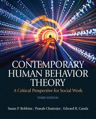 Contemporary Human Behavior Theory 3rd Edition 9780205033126 0205033121