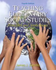 Teaching Elementary Social Studies 4th Edition 9780132565516 013256551X