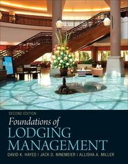 Foundations of Lodging Management 2nd edition 9780132560894 0132560895