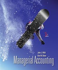 Managerial Accounting 3rd Edition 9780078110849 007811084X