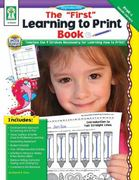The First Learning to Print Book 0 9781602681071 1602681074