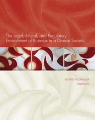 The Legal, Ethical, and Regulatory Environment of Business in a Diverse Society 1st edition 9780073524924 0073524921