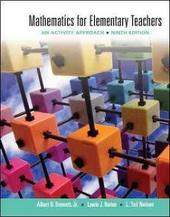 Mathematics for Elementary Teachers: An Activity Approach 9th Edition 9780077430917 0077430913