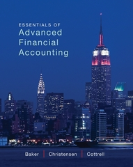 Essentials of Advanced Financial Accounting 1st edition 9780078025648 0078025648