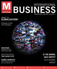 M: International Business 1st Edition 9780078029370 0078029376