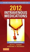 2012 Intravenous Medications 28th edition 9780323057998 0323057993