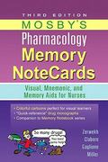 Mosby's Pharmacology Memory NoteCards 3rd Edition 9780323078009 0323078001